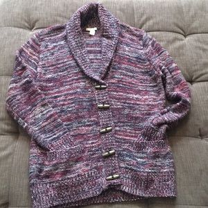 NWOT, Forever 21 red, blue & cream Small sweater